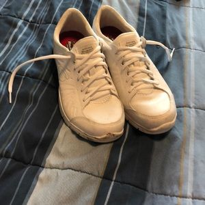 Real Hooters Girl Uniform Shoes White Sneakers 8.5